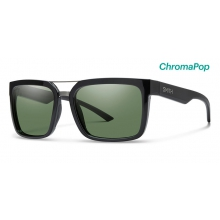 Highwire Black ChromaPop Polarized Gray Green by Smith Optics in Sylva Nc