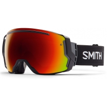 I/O 7 Asian fit Black Red Sol-X Mirror by Smith Optics