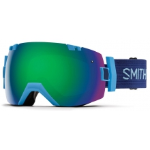 I/OX Asian fit Light Blue Green Sol-X Mirror by Smith Optics