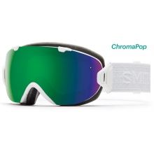 I/OS Asian fit White Eclipse ChromaPop Sun by Smith Optics