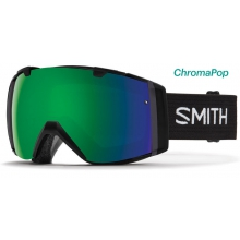 I/O Asian fit Black ChromaPop Sun by Smith Optics