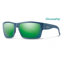 Outlier XL Matte Corsair Ripped ChromaPop Sun Green Mirror by Smith Optics