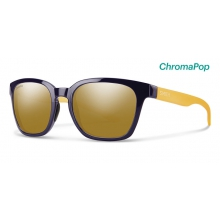 Founder Slim Midnight Matte Honey ChromaPop Polarized Bronze Mirror by Smith Optics