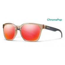 Founder Desert Crystal Smoke ChromaPop Sun Red Mirror by Smith Optics