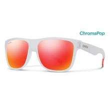 Lowdown XL Matte Crystal Red ChromaPop Sun Red Mirror by Smith Optics in Tuscaloosa Al