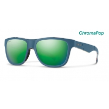 Lowdown Slim Matte Corsair Ripped ChromaPop Sun Green Mirror by Smith Optics