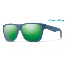 Lowdown Matte Corsair Ripped ChromaPop Sun Green Mirror by Smith Optics