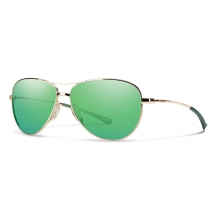 Langley Gold Green Sol-X Mirror by Smith Optics in Sandy Ut
