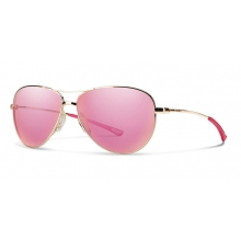 Langley Gold Pink Mirror by Smith Optics in Ponderay Id