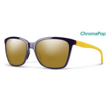 Colette Midnight Matte Honey ChromaPop Polarized Bronze Mirror by Smith Optics