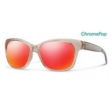Feature Desert Crystal Smoke ChromaPop Sun Red Mirror by Smith Optics in Charleston Sc