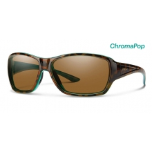 Purist Tort Marine ChromaPop Polarized Brown by Smith Optics in Golden Co