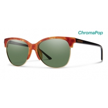 Rebel Matte Honey Tortoise/Black ChromaPop Polarized Gray Green by Smith Optics
