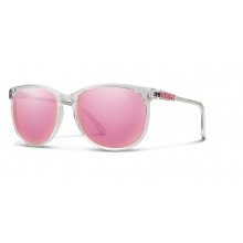 Mt. Shasta Crystal Pink Mirror by Smith Optics