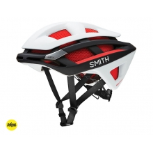 Overtake MIPS - Matte Red-White-Black MIPS - Small (51-55 cm) by Smith Optics