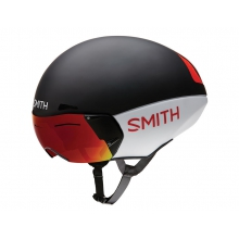 Podium TT Matte Red-White-Black Large (59-62 cm) by Smith Optics