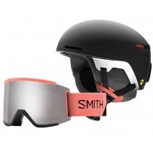 Exclusive Sunburst Code and Squad XL Black Sunburst Medium (55-59 cm) by Smith Optics