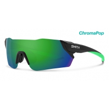 Attack Matte Black ChromaPop Sun Green Mirror by Smith Optics