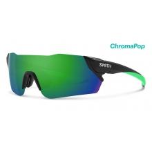 Attack Matte Black ChromaPop Sun Green Mirror by Smith Optics in Glenwood Springs CO