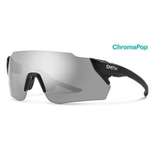 Attack Max Matte Black ChromaPop Platinum by Smith Optics