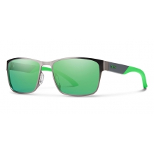 Contra Dark Ruthenium Green Mirror by Smith Optics in Tuscaloosa Al