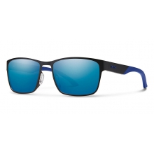 Contra Matte Black Blue Mirror by Smith Optics in Johnstown Co