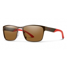 Contra Matte Brown Polarized Brown by Smith Optics in Salmon Arm Bc