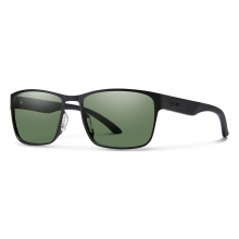 Contra Matte Black Polarized Gray Green