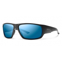 Discord Elite Black ChromaPop +  Elite Polarized Blue Mirror by Smith Optics