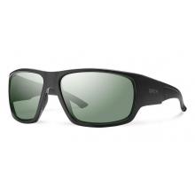 Dragstrip Elite Black ChromaPop +  Elite Polarized Gray Green