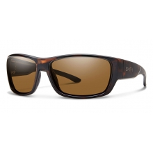 Forge Matte Tortoise Polarized Brown by Smith Optics in Chino Ca