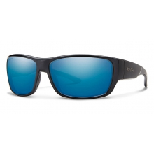 Forge Matte Black Polarized Blue Mirror by Smith Optics