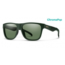 Lowdown Matte Olive Camo ChromaPop Polarized Gray Green by Smith Optics in Nelson Bc