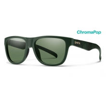 Lowdown Slim Matte Olive Camo ChromaPop Polarized Gray Green by Smith Optics