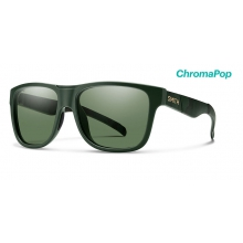 Lowdown XL Matte Olive Camo ChromaPop Polarized Gray Green by Smith Optics