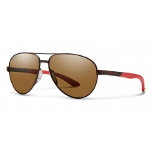Salute Matte Brown Polarized Brown by Smith Optics