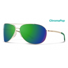 Serpico 2.0 Gold ChromaPop Sun Green Mirror