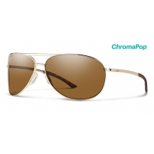 Serpico 2.0 Gold ChromaPop Polarized Brown by Smith Optics