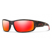 Survey Matte Camo Polarized Red Mirror by Smith Optics