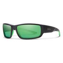 Survey Matte Black Polarized Green Mirror by Smith Optics in Grand Junction Co
