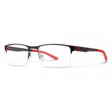 Watts Matte Black Red by Smith Optics