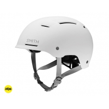 Axle Matte White - MIPS MIPS - Medium (55-59 cm) by Smith Optics