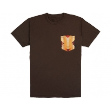 Sideshow Men's T-Shirt Brown with Lasso Small by Smith Optics