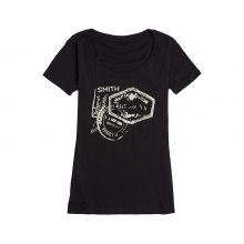 Wanderlust Women's T-Shirt Vintage Black Small by Smith Optics