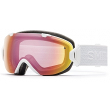I/OS White Eclipse Photochromic Red Sensor by Smith Optics