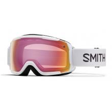 Grom White Red Sensor Mirror by Smith Optics in Arlington Tx