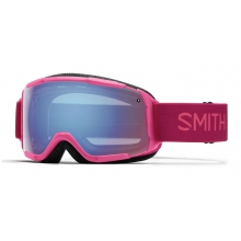 Grom Fuchsia Static Blue Sensor Mirror by Smith Optics