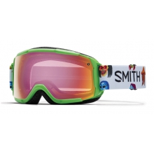 Grom Reactor Creature Red Sensor Mirror by Smith Optics