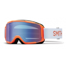 Daredevil Neon Orange Burgers Blue Sensor Mirror by Smith Optics