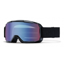 Showcase OTG Black Eclipse Blue Sensor Mirror by Smith Optics